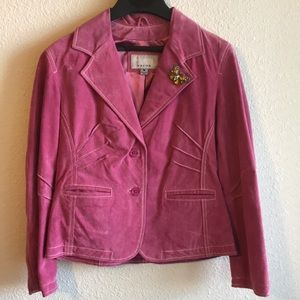 Wilsons Leather Pink Jacket